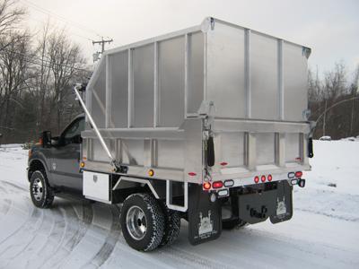 Dump Truck Leaf Box